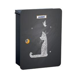 Cover per cassetta postale Mia Gatto in lamiera in acciaio L 27 x H 37 cm