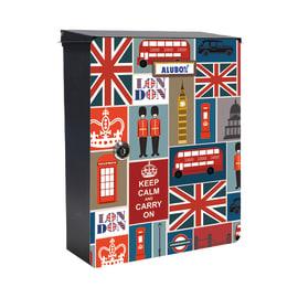 Cover per cassetta postale Mia London in lamiera in acciaio L 27 x H 37 cm