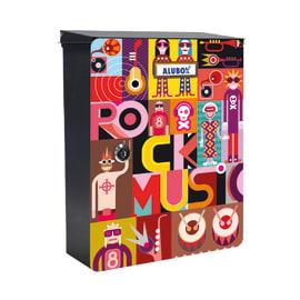 Cover per cassetta postale Mia Pop in lamiera in acciaio L 27 x H 37 cm