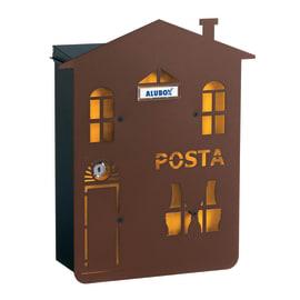 Cover per cassetta postale Mia Casa in lamiera in acciaio L 31.5 x H 38.6 cm