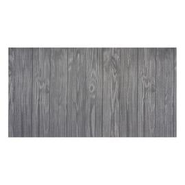 Tappeto Cucina antiscivolo Full legno grigio 180x55 cm
