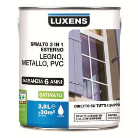 Smalto LUXENS 3 in 1 base acqua blu ral5015 2 L