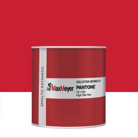 Smalto PANTONE base acqua rosso high risk 0.5 L