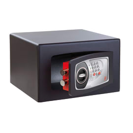 Cassaforte con codice elettronico TECHNOMAX NMT/3 da appoggio 35 x 22 x 30 cm