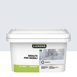 Pittura di ristrutturazione per mobili LUXENS per mobili grigio granito 6 2 L