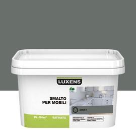 Pittura di ristrutturazione per mobili LUXENS per mobili grigio moon 1 2 L