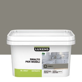 Pittura di ristrutturazione Mobile cucina LUXENS 2 lmarrone fossil 3