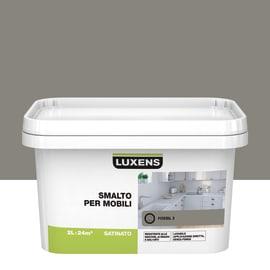 Pittura di ristrutturazione per mobili LUXENS per mobili marrone fossil 3 2 L