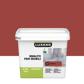 Pittura di ristrutturazione Mobile cucina LUXENS 0.75 lrosso carmen 3