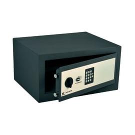 Cassaforte con codice elettronico STANDERS Standers fissaggio a pavimento<multisep/>da fissare a parete 44 x 23 x 35 cm