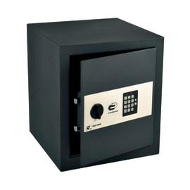 Cassaforte con codice elettronico STANDERS Standers fissaggio a pavimento<multisep/>da fissare a parete 35 x 40 x 36 cm