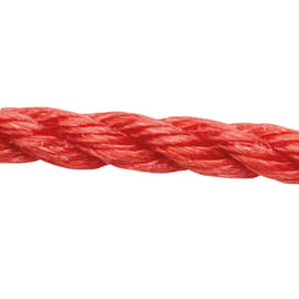 Corda ritorta in polipropilene STANDERS L 15 m x Ø 8 mm rosso