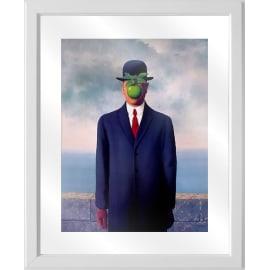 Quadro con cornice Magritte 45.5x55.5 cm