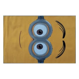 Tappeto Minions multicolor 133x95 cm