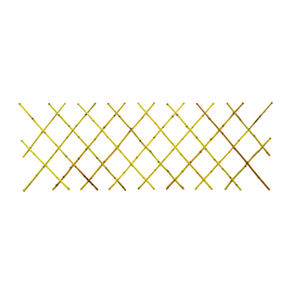 Traliccio estensibile TBU02 in bambù L 90 x H 180 cm , spessore 13 mm