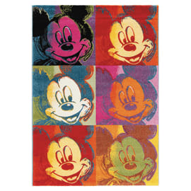 Tappeto Disney premium mickey popart multicolor 150x100 cm