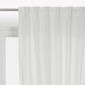 Tenda INSPIRE Polycotton bianco tape raccogliendo 140.0x280.0 cm