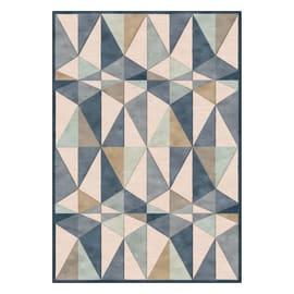 Tappeto Farashe triangoli multicolor 160x230 cm