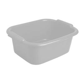 Bacinella in plastica Rettangolare 10 L grigio