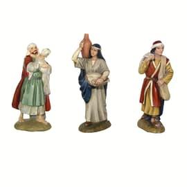 Figura decorativa in resina H 10 cm
