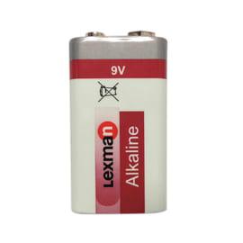 Pila 1 x 6LR61 9 V LEXMAN 9 volt 1 batteria