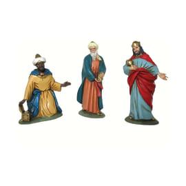 Figura decorativa in resina 3 pezziH 10 cm