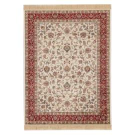 Tappeto persiano Orient farshian hereke 2 avorio e rosso 160x230 cm