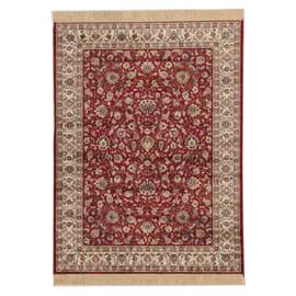 Tappeto persiano Orient farshian hereke 2 rosso 160x230 cm