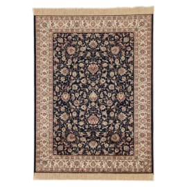 Tappeto persiano Orient farshian hereke 2 blu 160x230 cm