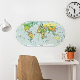 Sticker Map 47.5x70 cm