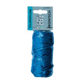 Corda a treccia in polipropilene STANDERS L 20 m x Ø 3 mm blu