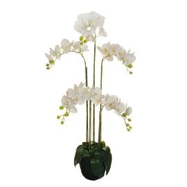Fiore artificiale Orchidea in Real Touch H 125 cm