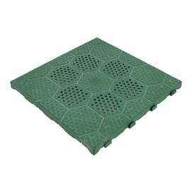 Piastrelle ad incastro 40 x 40 cm, Sp 25 mm colore verde