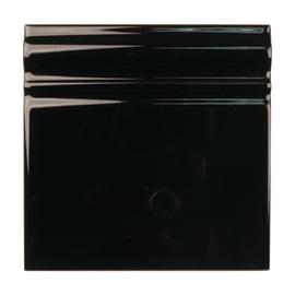 Listello Skirting nero L 15 x H 15 cm