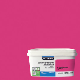 Pittura murale  antimuffa LUXENS 2.5 L rosa shocking 3