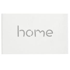 Applique Home bianco, in ferro, 21x35 cm, E14 2xMAX40W IP20 SFORZIN