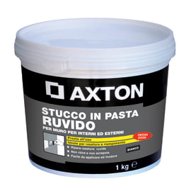 Stucco in pasta AXTON 1 kg bianco