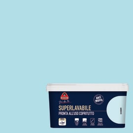 Pittura murale Superlavabile BOERO 2.5 L aquatic