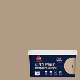 Pittura murale Superlavabile BOERO 2.5 L canapa