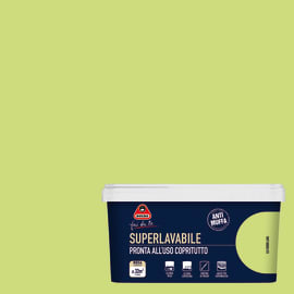 Pittura murale Superlavabile BOERO 2.5 L verde laos