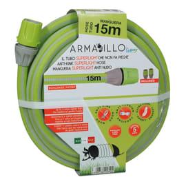 """Tubo di irrigazione antisvergolamento e antitorsione Armadillo Kit 15 MT 5/8\"""" L 15 m"""