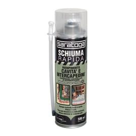 Schiuma poliuretanica rapida riempimento cavità e intercapedini grigio 0,5 ml
