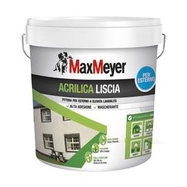 Vernice acrilica MAX MEYER liscia bianco 14 L