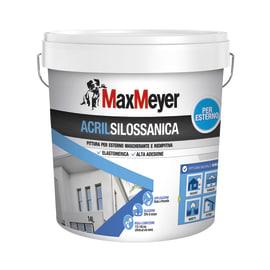Pittura acrilsilossanica e elastomerica MAX MEYER bianco 14 L