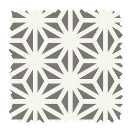 Tessuto Samarcanda geometrico tortora 280 cm