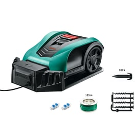 Robot tagliaerba BOSCH Indego 400 Connect batteria litio (li-ion) 18 V