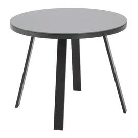 Tavolo da pranzo per giardino rotondo Lisboa NATERIAL in alluminio
