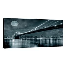 Quadro su tela Glitter Wow Bridge 145x75 cm