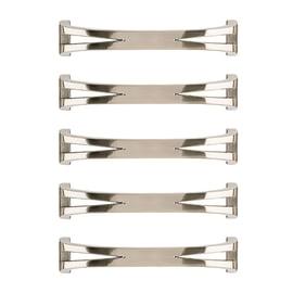 Maniglia in zama nichelato REI interasse 128 mm