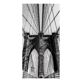 Quadro su tela Brooklyn Bridge 80x40 cm